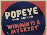 Wimmin Is a Myskery