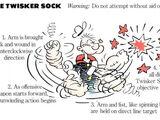 Twisker Sock