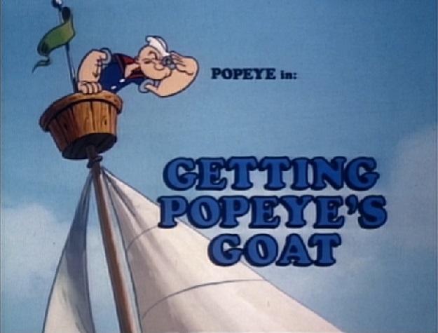 Getting Popeye's Goat