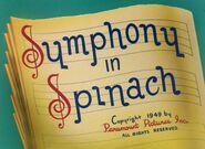 Symphony spinach