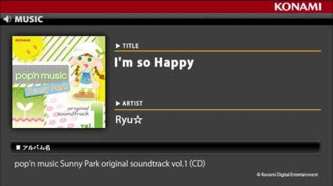 I'm_so_Happy_pop'n_music_Sunny_Park_original_soundtrack_vol.1