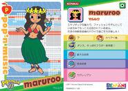 Maruroo Card with Profile