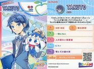 Takuto change card