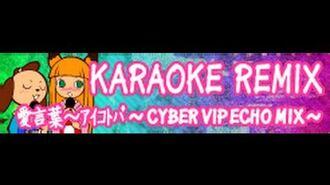 KARAOKE_REMIX_「愛言葉~アイコトバ_~CYBER_VIP_ECHO_MIX~」(HYPER_version)