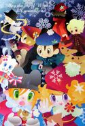 Meeting on a Winter Day... popn card