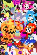Pop'n halloween!! pop'n card