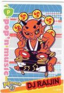 DJ Raijin Card