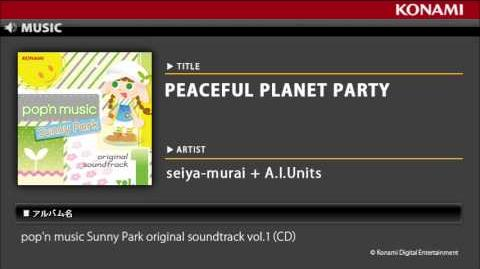 PEACEFUL_PLANET_PARTY_pop'n_music_Sunny_Park_original_soundtrack_vol.1