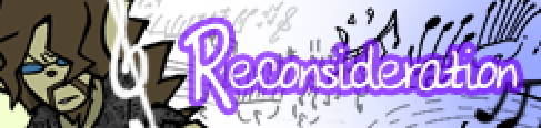 Reconsideration