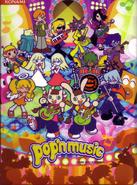 Pop'n Music Card Chara Collage 2003