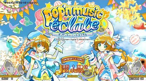Pop'n_music_éclale_title