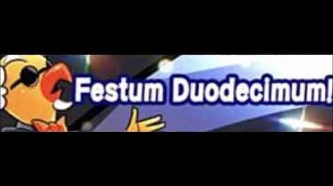 Festum Duodecimum!