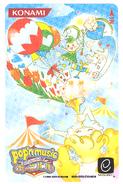 Pop'n 13 e-Amuse card Poet and Fuwawa