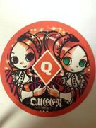 Lottle and ratte poker chip