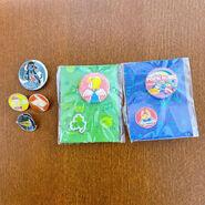 Pop'n Music Poet Button Badge