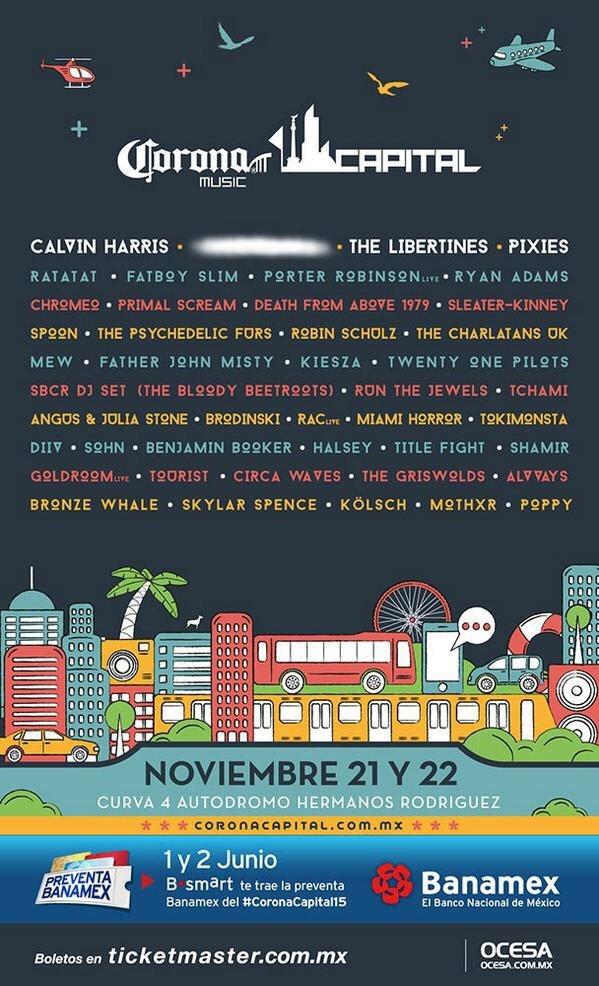 11/22/15 at Corona Capital Festival