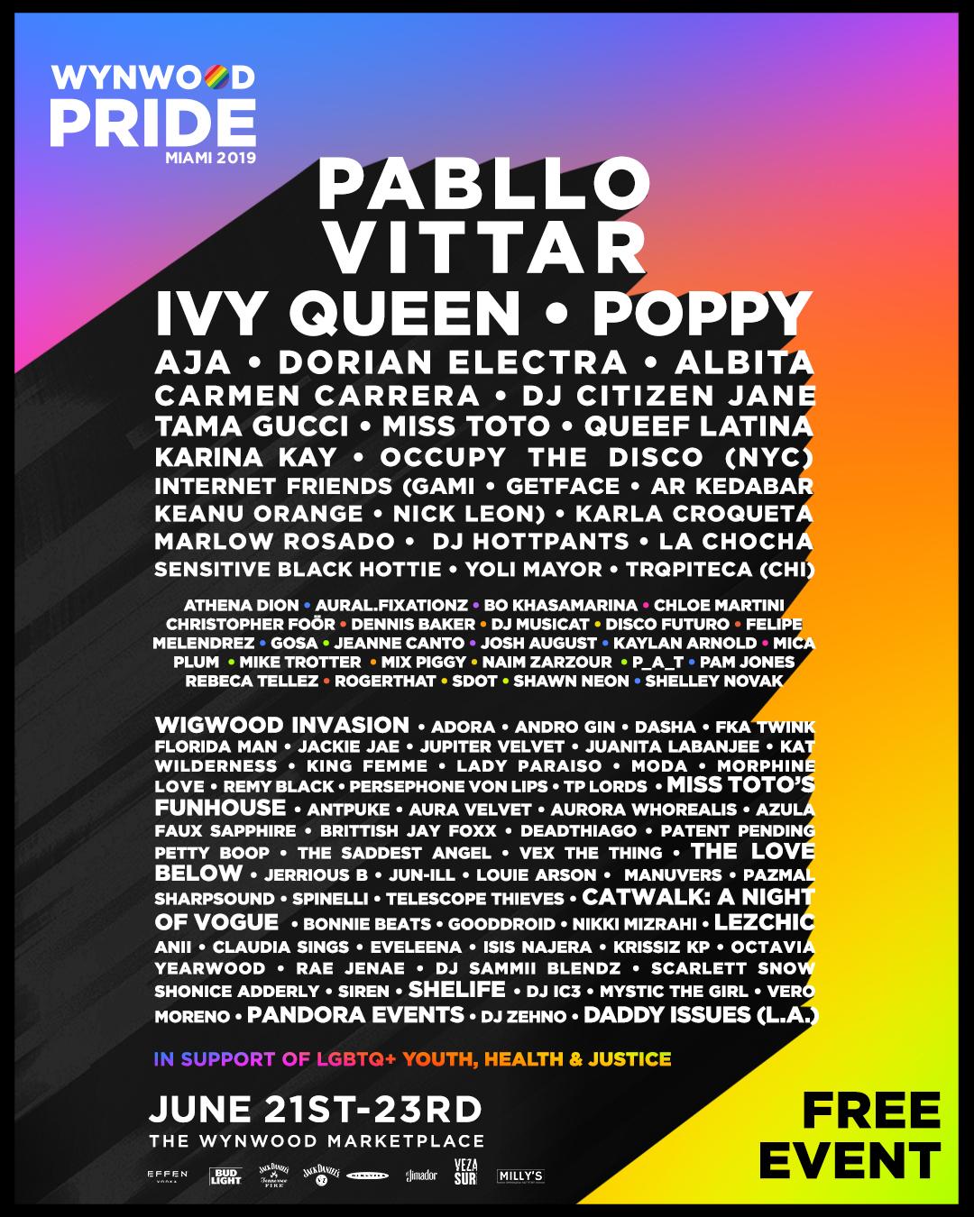 06/23/19 at Wynwood Pride 2019