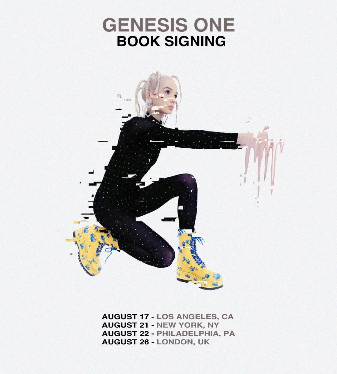 Genesis 1 Book Signing Tour