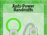 Anti-Power Handcuffs