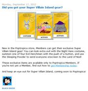 Did you get your Super Villain Island gear