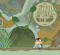 Steamworks gear shop
