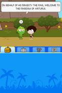 Poptropica Adventures green knight