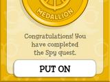 Island Medallion (Spy Island)