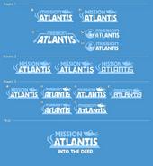 Mission alantis logo concept art