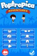 Poptropica Adventures costumizer