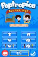 Poptropica Adventures character creation