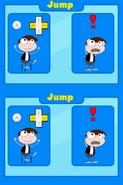 Poptropica Adventures jump instructions