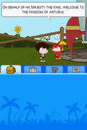 Poptropica Adventures red knight