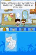 Poptropica Adventures letter