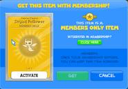 Dryad follower membership