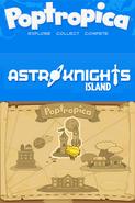 Poptropica Adventures Astro-Knights map