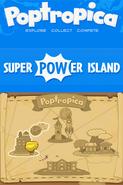 Poptropica Adventures Super Power map