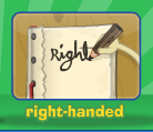 Right-handed