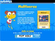 Multiverse popup