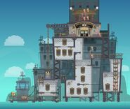 Super Villain Island Erewhon concept art