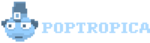Early Poptropica Island logo transparent.png