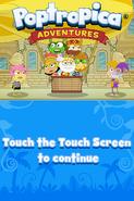 Poptropica Adventures title screen