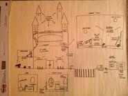 Vampire's Curse rough castle sketch