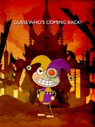 Mordred's Return Poster