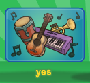 Play instrument yes