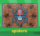Room full of spiders