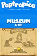 Poptropica Adventures museum map