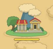 Mythology island, seen from one of the latest map updates
