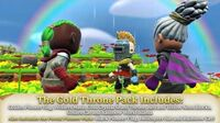 Portal Knights - PlayStation 4 and Xbox One - The Gold Throne Pack