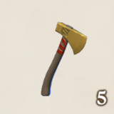 Golden Throwing Axe Icon.png