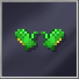 Green Ski Gloves